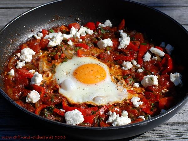 Menemen - türkische Tomateneier
