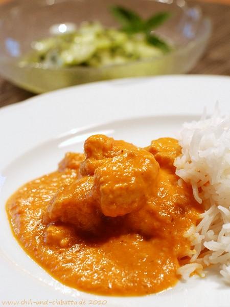 Murgh Makhani - indisches Butterhuhn