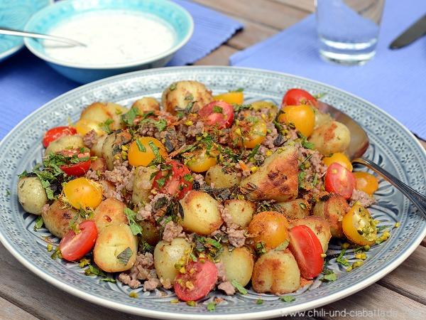 Orientalische Kartoffelpfanne
