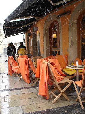 Cafe in Passau