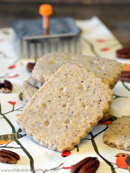 Pecannuss Shortbread