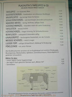 Plachuttas Tafelspitz & Co