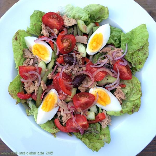 Leichter Salade nicoise