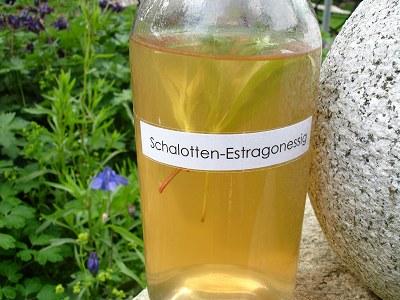 Schalotten-Estragonessig