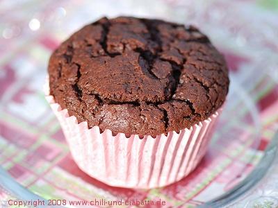 Schokoladen-Pudding-Muffins