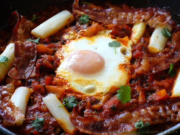 Resteverwertungs-Shakshuka