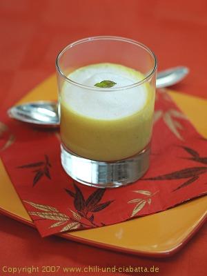 Cappuccino von der Süßkartoffel