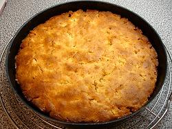 Kuchen aus dem Ofen