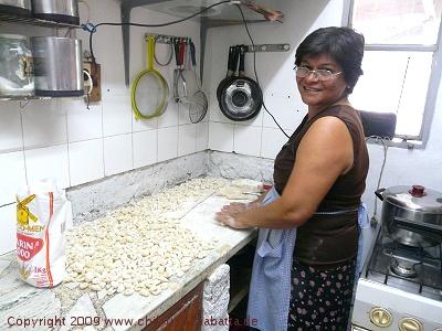 Franis Mama macht Gnocchi am 29. des Monats