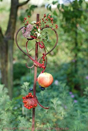 Apfel-Deko